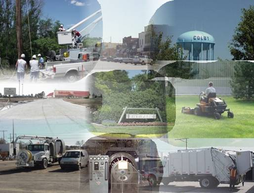Public Utilities Collage