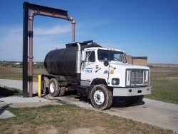 Wastewater Treatment Plant Sludge Truck