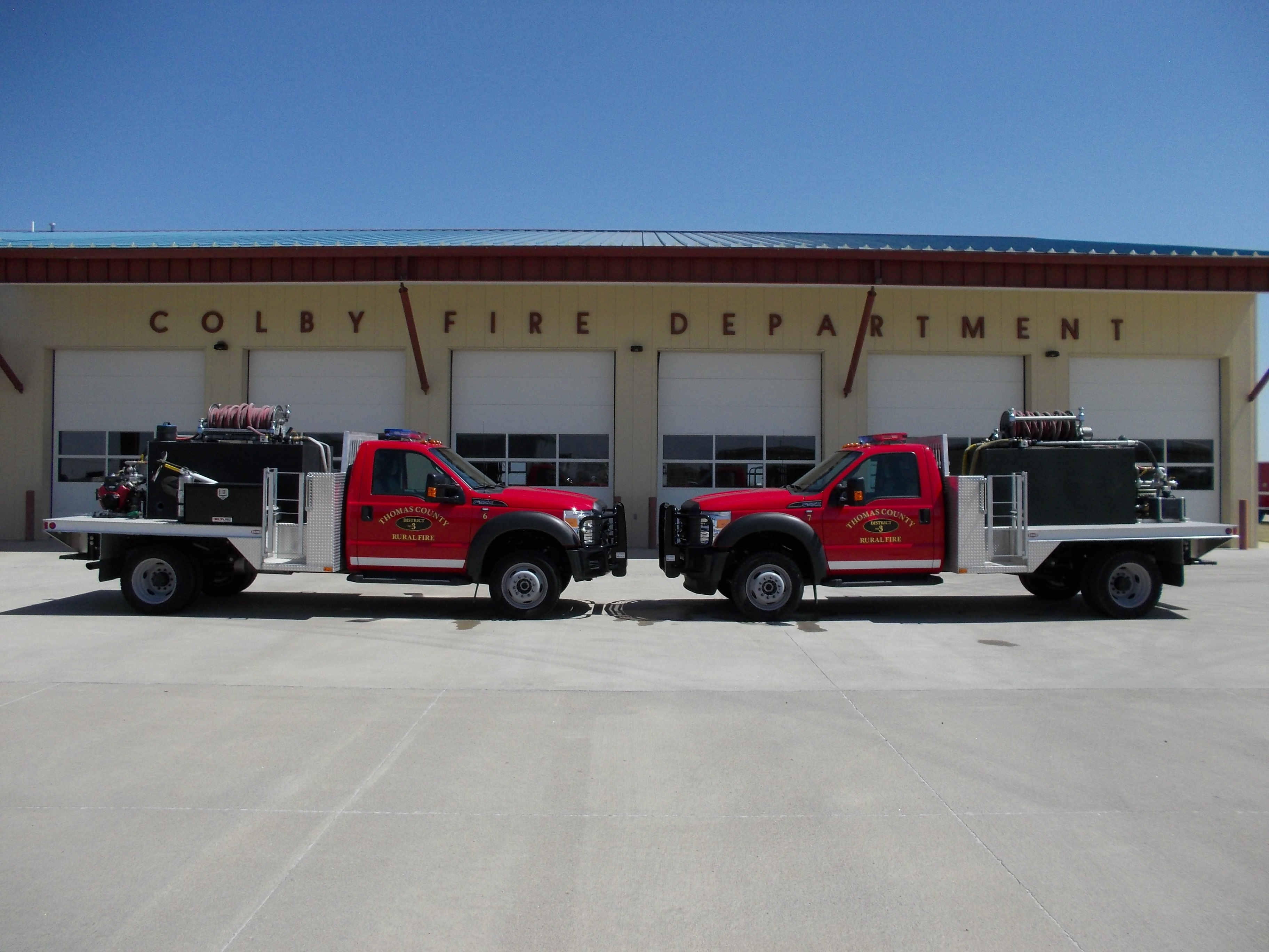 Brush Trucks 6 and 7