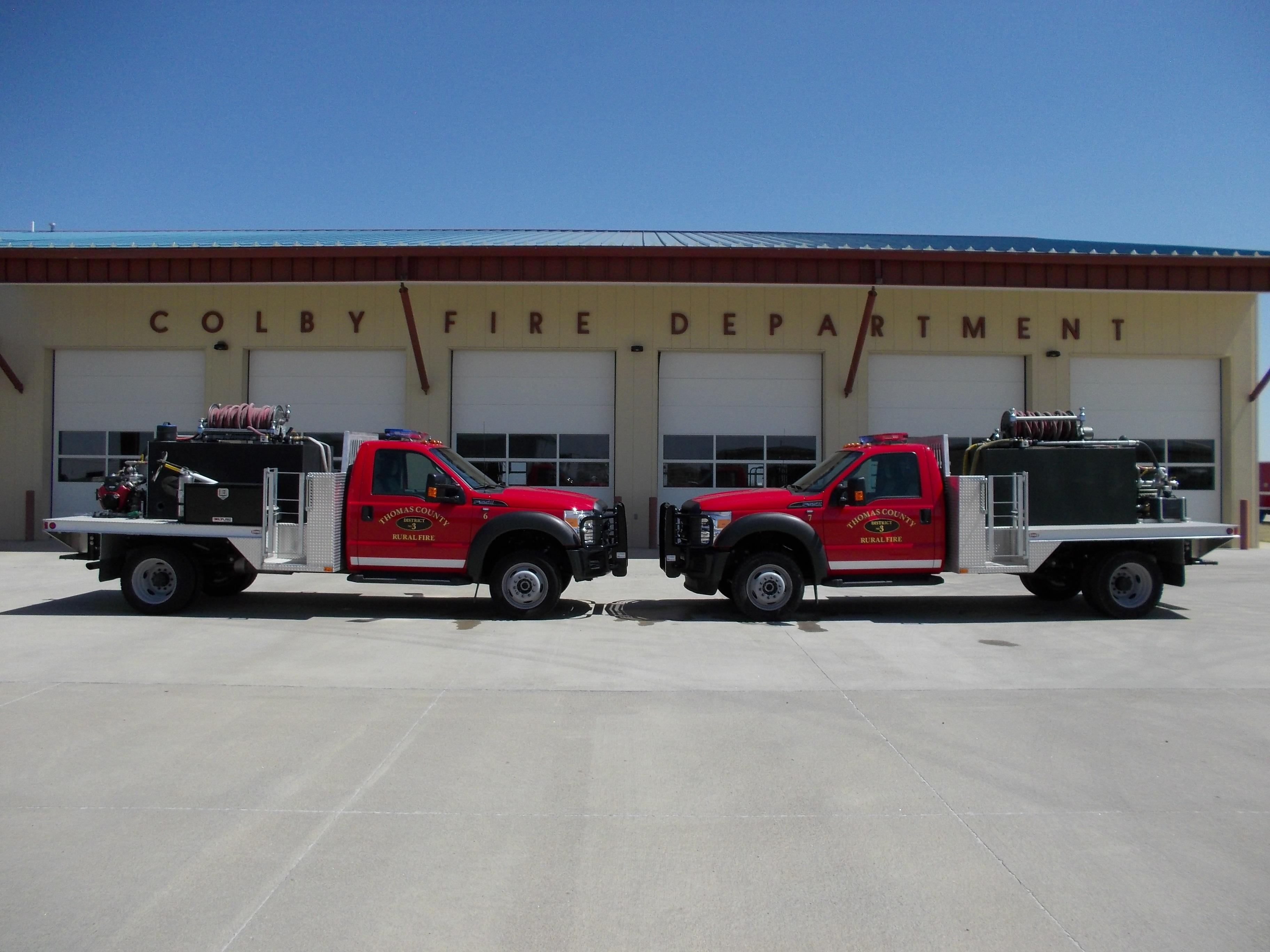 Brush Trucks 6 and 7